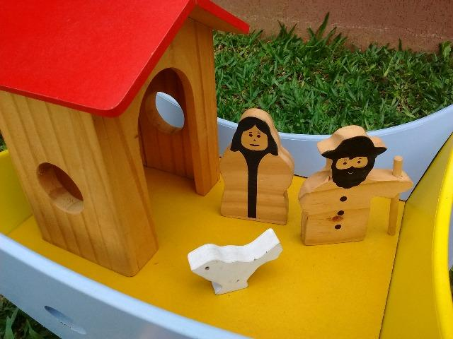 Arca de Noé de madeira - Foto 5