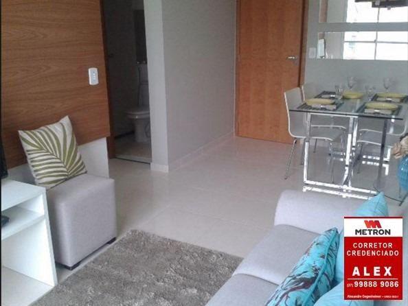 ALX - 18 - Mude para Morada de Laranjeiras - Apartamento de 2 Quartos com Varanda - Foto 10