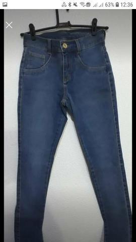 Calças jeans fabricadas pra Purpurina e Duda Dreans - Foto 3