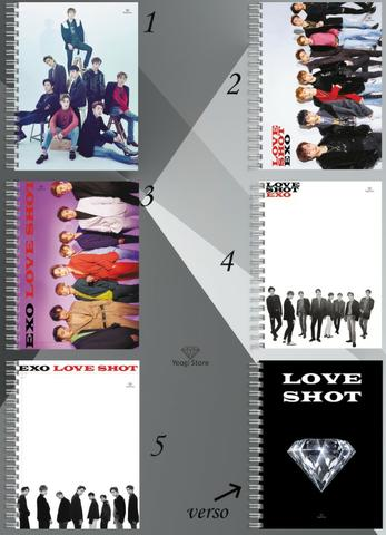 Cadernos Kpop Personalizado