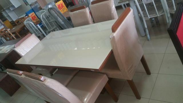Lindos Conjunto de mesas no crediario - Foto 3