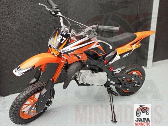 Mini Moto Cross Motor 49cc/2t Em 10 vezes sem juros