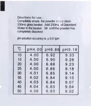 Sachê Buffer Ph - Para Calibrar Caneta De Ph - Foto 4