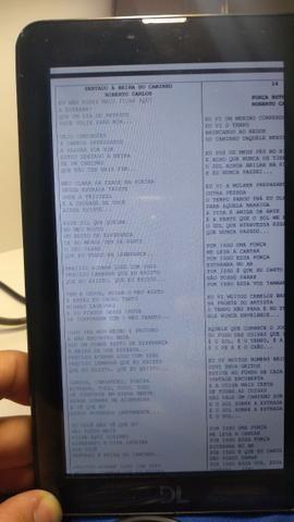 Tablet DL, 4GB, com cartão de 8GB, capa e carregador - Foto 3