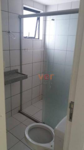 Apartamento com 3 dormitórios para alugar, 112 m² por R$ 1.450/mês - Engenheiro Luciano Ca - Foto 9
