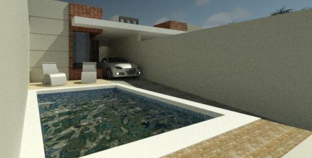 Casas 3 dormitórios, piscina e churrasqueira - Foto 6