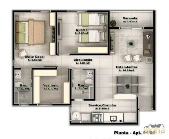 Apartamento com Excelente Localização Entre Parangaba/Montese - Se enquadra MCMV - Foto 3