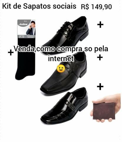6a6bf674e Kit De Calçados Masculinos Selten - Roupas e calçados - Tamandaré ...