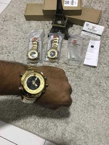 Relógio Naviforce original estilo militar a pronta entrega - Foto 2