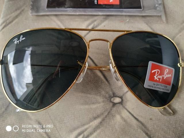 a0e5b23b1 Oculos ray ban novo primeira linha - Bijouterias, relógios e ...