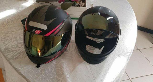 2 capacetes Pro Tork - Foto 2