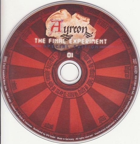 Ayreon - The Final Experiment 02 CDs - Foto 5