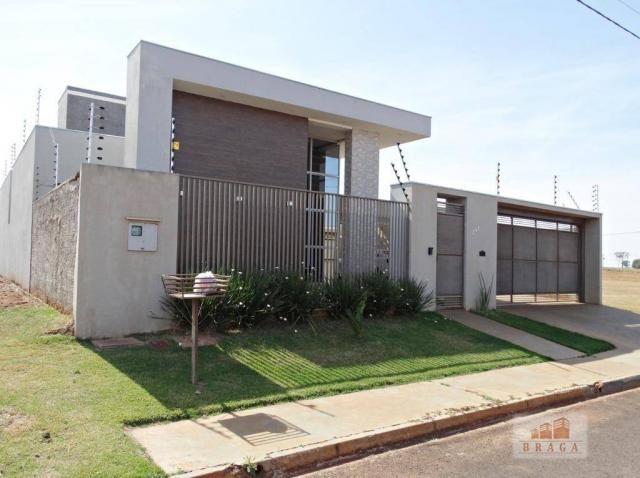 Vende-se casa com 150,41 m2 de laje, Bairro Green Ville ll ? Naviraí - MS