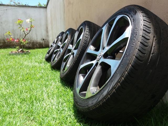 """Vendo rodas e pneus aro 17"""" - Foto 2"""