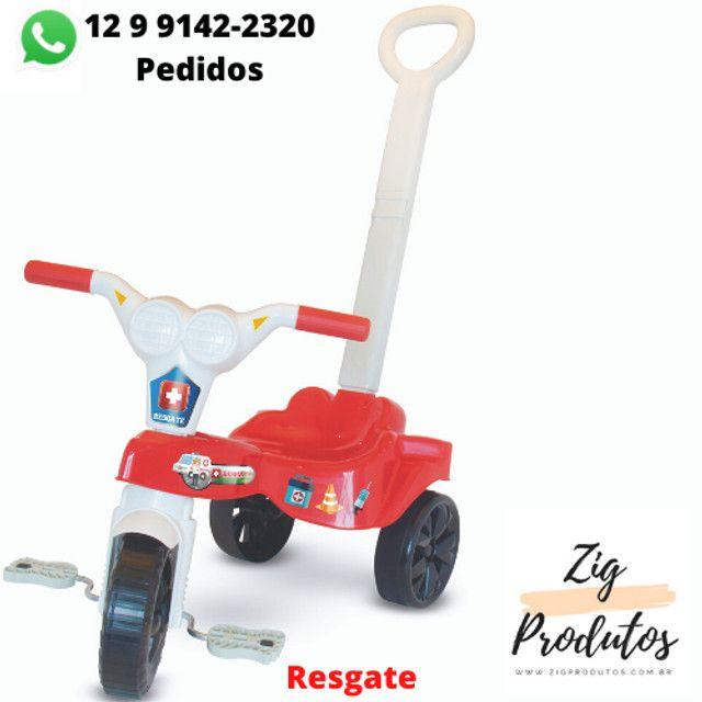 Triciclo Infantil Velocipe Bob Com Empurrador - Promoção Produtos Novos - Foto 6