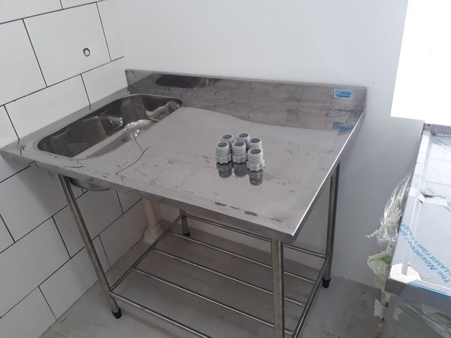 Equipamentos em aço inox sobre medidas para cozinhas industriais bares - Foto 2