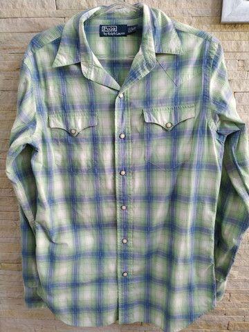 Camisa feminina marca Polo Ralph Lauren - Foto 6