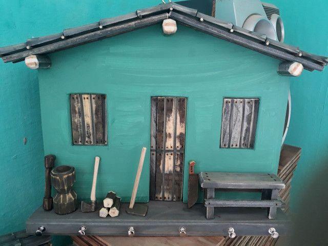 Porta chave em madeira. - Foto 2