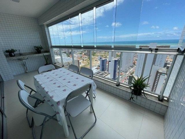 Ótimo apartamento no Residencial Alfredo Volpi, Bessa, 3 suítes + DCE, com linda vista  - Foto 3
