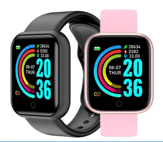 Smartwatch Cores Variadas Ótimo Preço.