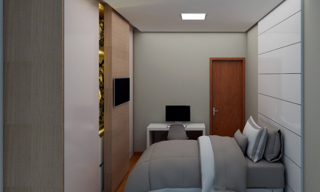 Oportunidade, apartamentos de 3 qtos com suíte e duas vagas no Santa Branca. - Foto 4