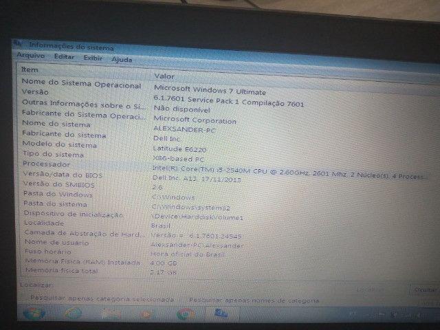 Notebook Dell E6220 - Foto 4