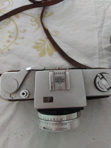 Máquina de fotografia antiga nikkorex R$ 350,00 whatsapp * - Foto 4
