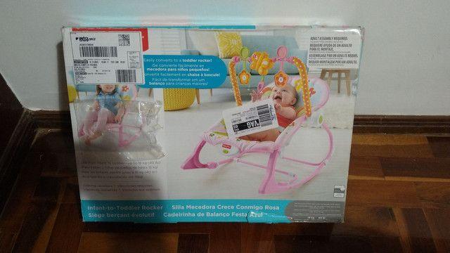 Cadeira de Balanço Fisher Price Minha Infância. - Foto 3