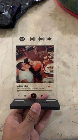 Plaquinhas Spotify acrílico  - Foto 4