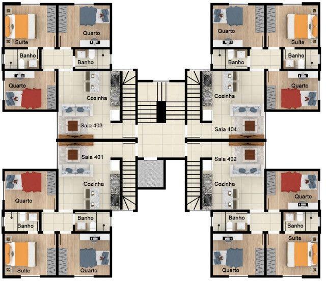 Oportunidade, apartamentos de 3 qtos com suíte e duas vagas no Santa Branca. - Foto 11