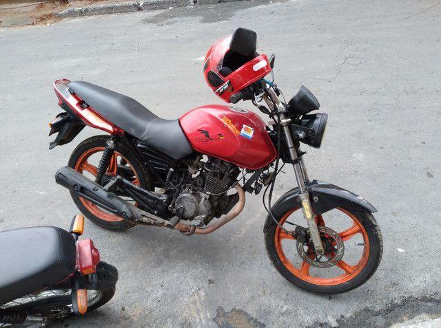 Vendo essa linda moto ano 2012  - Foto 4