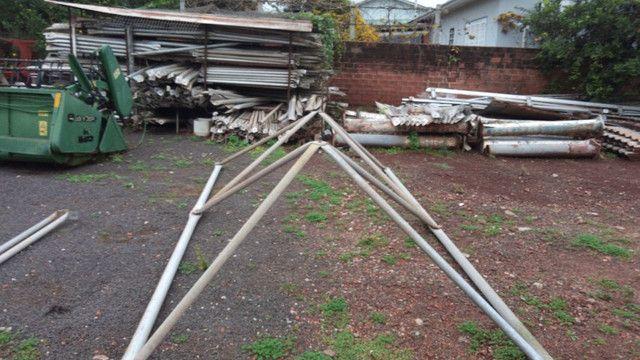 galpão desmontado telhado aluminio