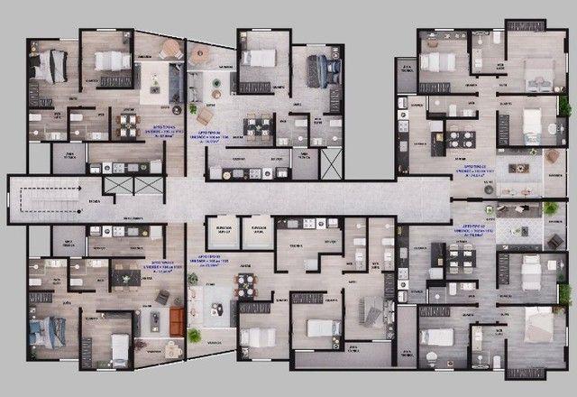 Parus Residence- Construção- No melhor do Manaíra- 02 ou 03Qts- 01 ou 02Vgs - Foto 15