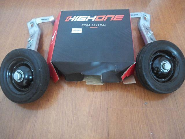 Roda lateral para bicicleta aro 26 a 29
