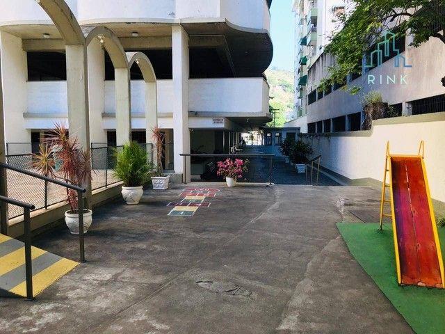 Apartamento com 1 dormitório para alugar, 50 m² - Icaraí - Niterói/RJ - Foto 12