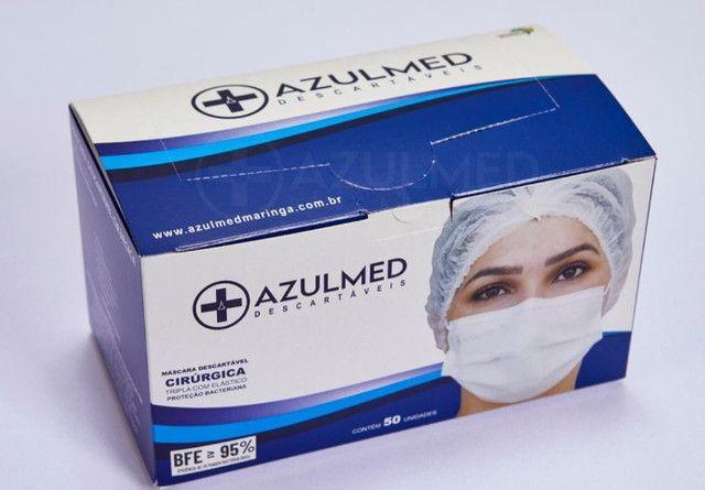 Mascara Cirúrgica Descartável  - Foto 4