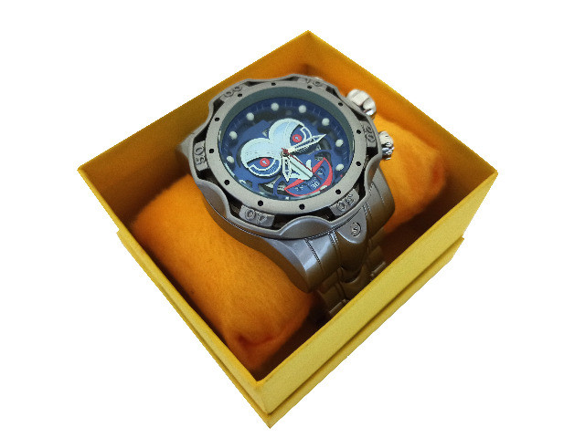 Relógio Masculino Grande Relógio De Pulso Grande Robusto - Foto 2