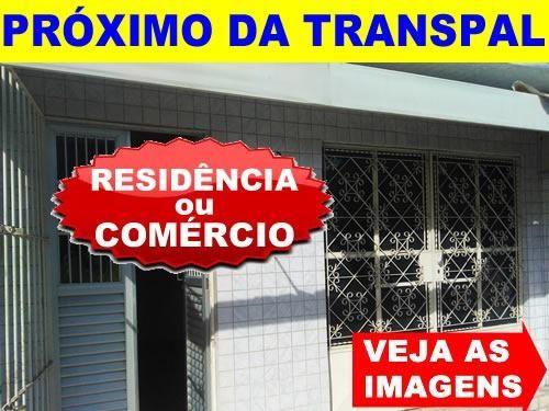 Centro - Casa P/ Fins Comerciais ou Residenciais - Próximo Transpal