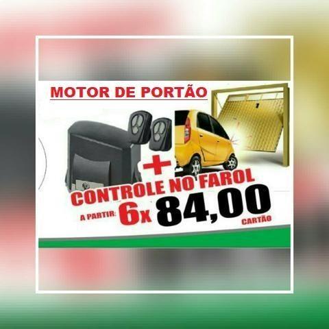 Motor de Portão Rápido 11segundos 6x 84,00