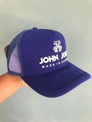 9272f1cc01 Boné Redinha Trucker John John - Bijouterias, relógios e acessórios ...
