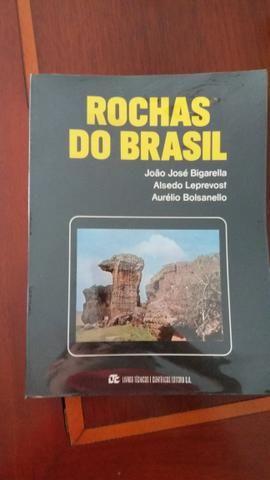 Livro Rochas do Brasil
