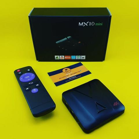Aparelho Tv Box ( Mx10 Mini ) 32Gb Mem - 4Gb Ram