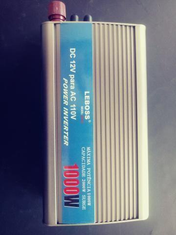 Inversor Solar 12v para 110v 1000w - Foto 2