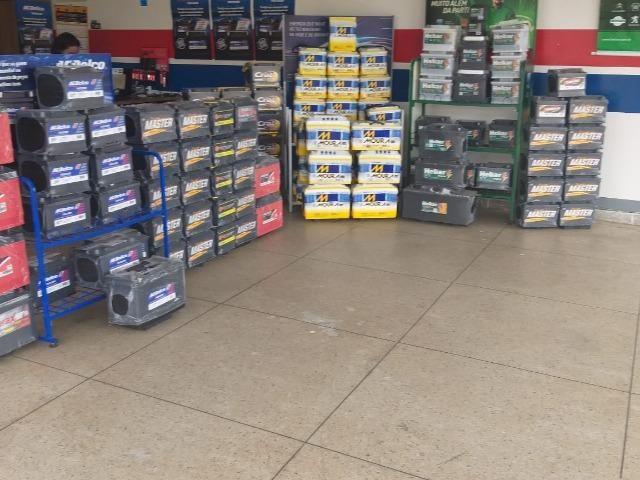Mega Promoção em Baterias 60Amp por Apenas 4X de $48,75 Fone *