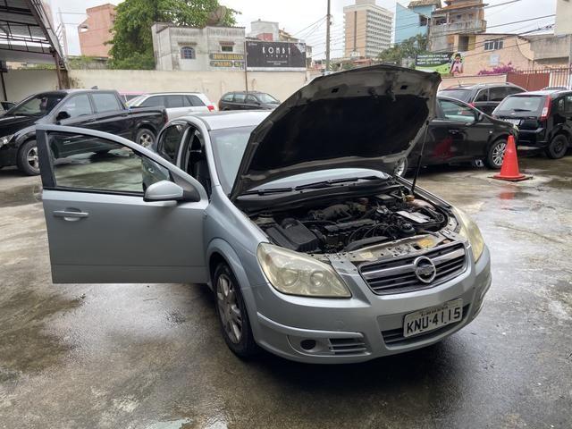Vectra elegance couro e Gnv automático - Foto 4