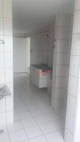 Apartamento com 3 dormitórios para alugar, 112 m² por R$ 1.450/mês - Engenheiro Luciano Ca - Foto 18