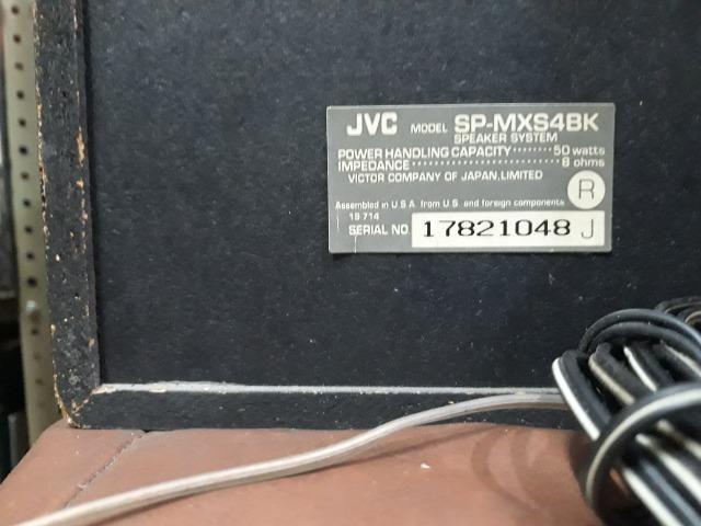 Micro System jvc MX-S4 com Caixas - Foto 6