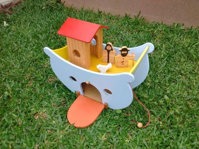 Arca de Noé de madeira - Foto 3