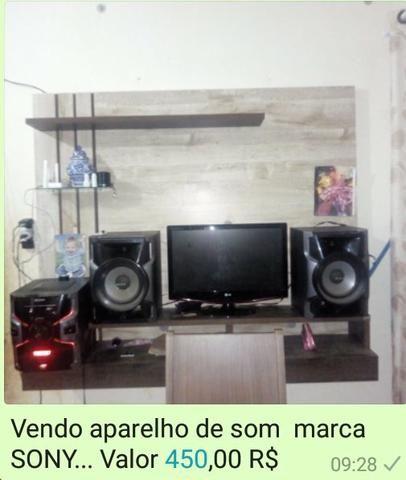 Som marca SONY 400 reais