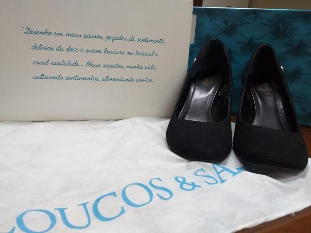 Sapato Preto/ Confortável